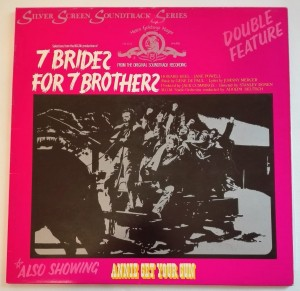 7 Brides For 7 Brothers / Annie Get Your Gun LP dosk