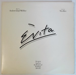 Andrew Lloyd Webber And Tim Rice - Evita LP winyl bdb