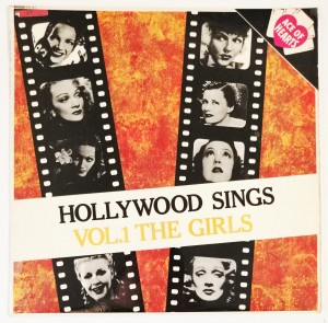 Hollywood Sings Vol. 1 The Girls LP AH67