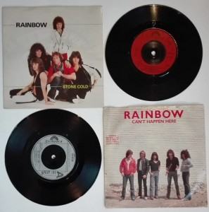 4 winyle single - Rainbow - I Surrender, All Night Long