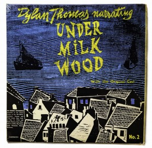 D. Thomas Narrating Under Milkwood No.2 LP TC0997