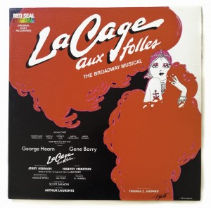 Jerry Herman La Cage Aux Folles LP HBC14824