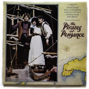 Gilbert Sullivan The Pirates Of Penzance LP K62035