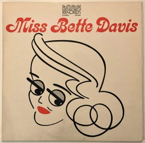 Bette Davis - Miss Bette Davis LP PR1001 bdb
