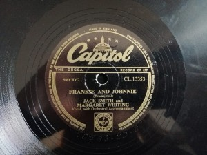 DO IT AGAIN / FRANKIE AND JOHNNIE Capitol CL13353