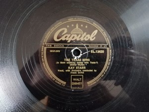 KAY STARR OH BABE / THE TEXAS SONG Capitol CL13420