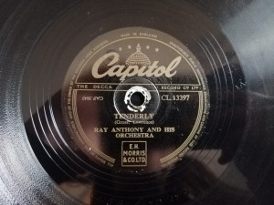 RAY ANTHONY TENDERLY/ NEVERTHELESS Capitol CL13397