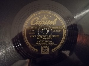 KAY STARR I'LL NEVER BE FREE Capitol CL13354