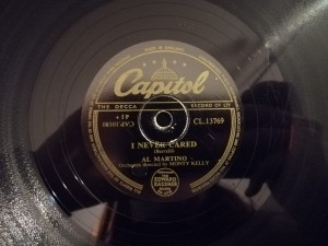TAKE MY HEART / I NEVER CARED Capitol CL13769