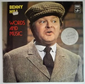 Benny Hill - Words And Music LP winyl stan db