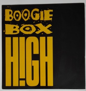 Boogie Box High - Nervous SP winyl stan idealny