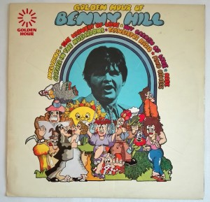 Golden Hour Of Benny Hill LP winyl stan bdb