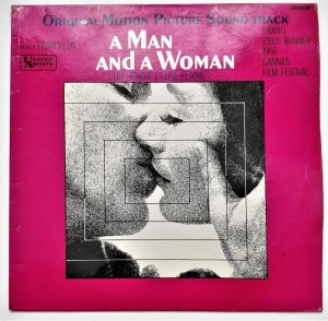 A Man And A Woman SOUNDTRACK LP winyl stan słaby